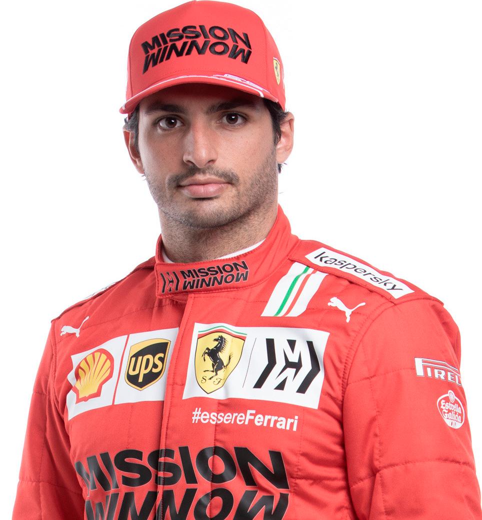 Carlos Sainz Formula 1 Driver Official Website